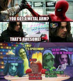 26 trending memes in pinterset ~ viral solotechn - Marvel Universe Avengers Humor, Marvel Avengers, Marvel Jokes, Ms Marvel, Captain Marvel, Marvel Comics, Funny Marvel Memes, Dc Memes, Stupid Funny Memes