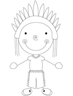 Free Coloring Pages To Print Thanksgiving For Kids