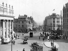 Theatre Square, Nottingham, c 1929 (courtesy of F W Stevenson).
