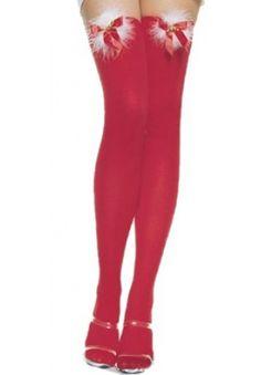 Jingle Bell Thigh High Stockings