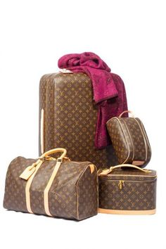 Icónico equipaje de lujo