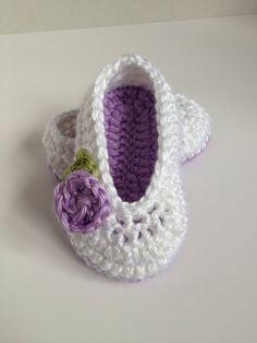 Crochet Baby Booties,0-3 Months