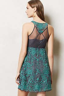 Lace dress from Anthropologie
