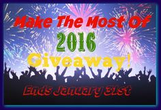 Make The Most Of 2016 Giveaway #MTM2016 - Heartbeats~ Soul Stains
