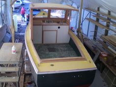 wooden lobster boat - Repco 22