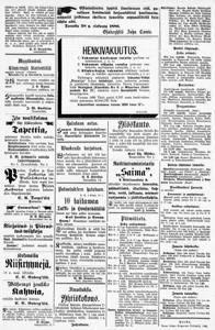 Sanomalehdet - Digitoidut aineistot - Kansalliskirjasto