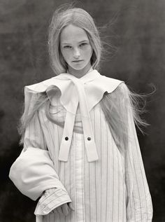 Jean Campbell by Bruce Weber for Vogue UK October 2013 6