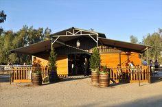 JEH Ranch Barn...I like barrel planters here