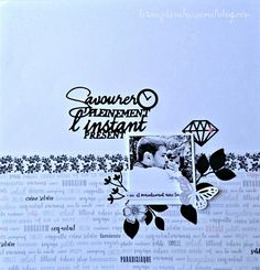 Savourer pleinement l'instant présent - Swirlcards, Kési'art, Florilèges Design
