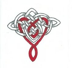 Infinite Love Celtic heart