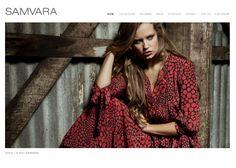 www.samvara.com.au    SAMVARA has grown from strength to strength, with most designs gaining cult status following the launch of each season's range.