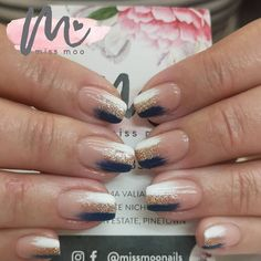 Ombre French Nails, Instagram