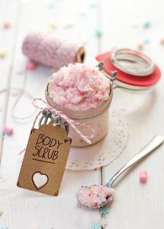 DIY Body Scrub / Körperpeeling zum Verschenken