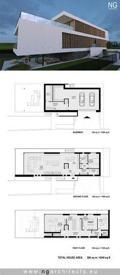 modern villa G designed by NG architects www.ngarchitects.eu