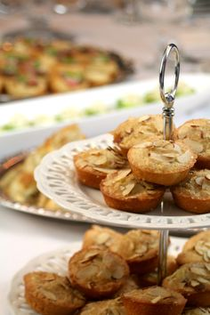 Downton Abbey Party Menu - Almond Cakes
