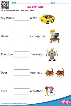 Fun learning online worksheets for Kindergarten, online english printable worksheets English Grammar For Kids, English Phonics, Learning English For Kids, English Lessons For Kids, Kids English, English Test, Lkg Worksheets, Pronoun Worksheets, 2nd Grade Worksheets