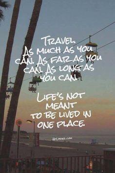 Die 120 besten Sprüche und Zitate rund ums Reisen