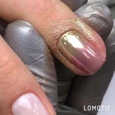 Nail Art Hacks, Gel Nail Art, Nail Art Diy, Gel Nails, Chic Nails, Stylish Nails, Trendy Nails, Simple Nail Art Videos, Nail Art Designs Videos