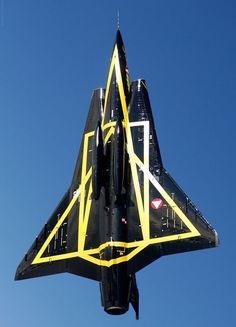 SAAB 35 Draken (The Dragon) from the austrian air force