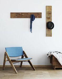 I love these peg board hangers!