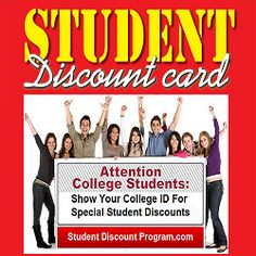 We post local college student discounted offers on websites for over 200 colleges and universities across America!
