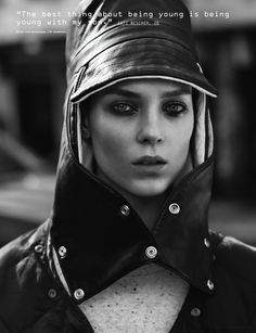 Kati Nescher | Josh Olins  #photography | i-D Magazine Pre Fall 2012