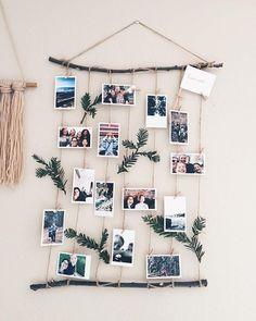 39 Creative DIY Photo Frames Make Your Home Unique Diy decor for home, home decor,DIY photo frames,