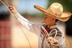 #Charreria en el Dia del #Charro y las #Amazonas una tradicion familiar y el deporte Nacional de Mexico Edmund Rios performs during the Fiesta Charreada