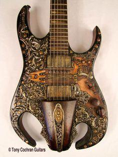 Tony Cochran Revelation guitar #68 for sale Picture