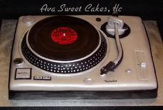 Technics Turntable Cake Cakecentral.com