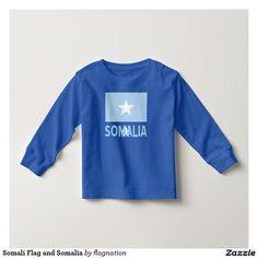 Somali Flag and Somalia T Shirt