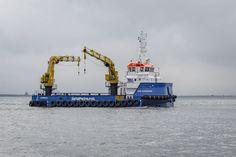 Damen's first Renewables Service Vessel 3315 launched