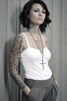 tatuagem no braço fechado feminina - Pesquisa Google