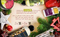 Celebrate with Lovage by choosing two Christmas gift sets for your loved ones and receive yours of the same value for free!  احتفلوا مع لوفاج واختاروا مجموعتين من هدايا العيد المجيد لتستمتعوا بهدية بنفس القيمة مجانا حتى تتشاركوا الفرحة مع أحبائكم! #merrychristmas #giftset #festivities #loveyourlovedones #buytwogetthree #holidayoffer #christmasinuae #christmasgift #uae #yasmall #yasisland #dalmamall #abudhabi #festivalcity #dfc #etihadmall #dubai