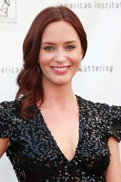 emily blunt red hair