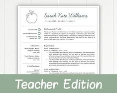 Grade School Teacher Resume Example  Resume Examples Teacher And