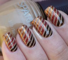 Hello lovelies! I've got one more nail art for you ;) It's a whole SpaRitual manicure and it is inspired by Stripe manicure by MakeupWithdrawal but with a little diagonal twist. For this look I've used SpaRitual Back To Your Roots as a base. Then I've...