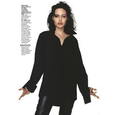 Untitled ❤ liked on Polyvore featuring angelina jolie and angelina