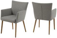 AC Design Furniture 0000055606 Armstuhl Ulrik, 57 x 61 x 87 cm, Sitz, Rücken Stoff, Gestell aus Holz Eiche, Ölbehandelt, hellgrau Siehe mehr unter http://www.woonio.de/p/ac-design-furniture-0000055606-armstuhl-ulrik-57-x-61-x-87-cm-sitz-ruecken-stoff-gestell-aus-holz-eiche-oelbehandelt-hellgrau/
