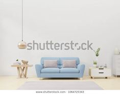 Find Empty Living Room Blue Fabric Sofa stock images in HD and millions of other royalty-free stock photos, illustrations and vectors in the Shutterstock collection. Fabric Sofa, Blue Fabric, White Walls, Empty, Living Room, Illustration, Home Decor, Off White Walls, Decoration Home