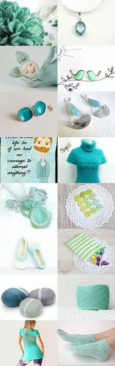 mint by Oksana on Etsy--Pinned with TreasuryPin.com