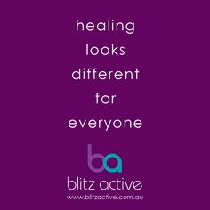 Take time out to...  www.blitzactive.com.au
