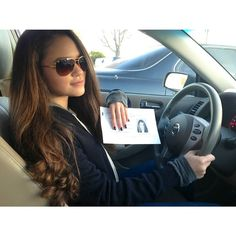 Peyton) I got my license. I'm so happy..*grins but tries to act cool and laughs* I'm such a loser..