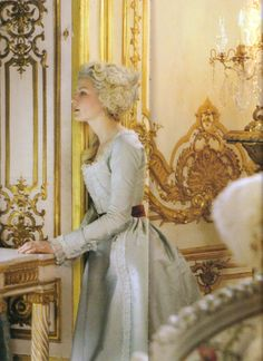 Marie Antoinette movie! rare shot!