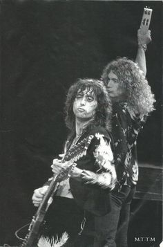 Jimmy Page and Robert Plant Pinterest: TheGoldenBrunetteॐ