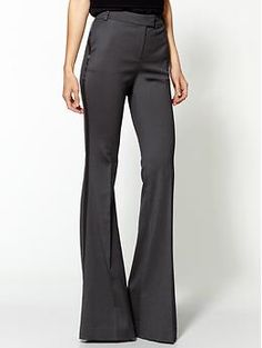 Rachel Zoe Hutton Tux Pant. If I had the body for it I'd rock these babies all the time