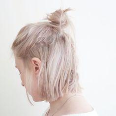 15 Frisur Ideen zu Inspirieren Sie Ihre Halbe Brtchen  Smart Frisuren für Moderne Haar