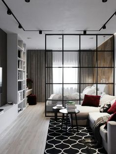 Fabulous Studio Apartment Decor Ideas On A Budget - Yoga - Apartment Room, Apartment Layout, Bedroom Design, Home Room Design, Studio Apartment Decorating, Apartment Design, Condo Interior, Small Apartment Design, Apartment Interior