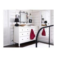 HEMNES Chest of 8 drawers IKEA Extra roomy drawers with plenty of storage.