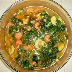 Sausage, Kale, and White Bean Soup Allrecipes.com